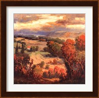 Framed Tuscan View