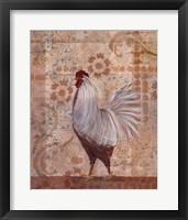 Provence Hen Framed Print
