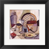 Shaken, Not Stirred Framed Print