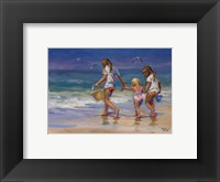 Mother's Helpers Framed Print