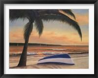 Framed Golden Sunset
