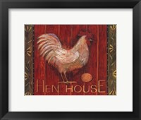 Framed Hen House