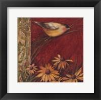 Framed Yellow Bird II
