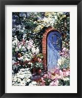 Framed Come Into My Garden