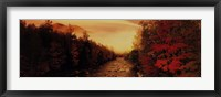 Framed New Hampshire Stream