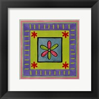 Flower Power II Framed Print