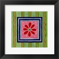 Flower Power III Framed Print