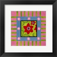 Flower Power IV Framed Print