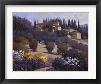 Framed Tucked Away In Tuscany