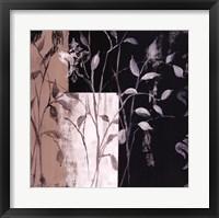 Framed African Leaf Abstract I