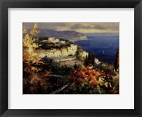 Framed Mediterranean Seascape