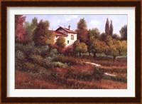 Framed La Casa Nel Bosco