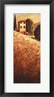 Hillside House I Framed Print