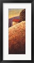 Hillside House II Framed Print