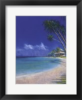 Framed Bahama Cove