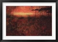 Framed Fire Sky