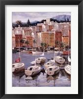 Framed Terracotta Harbor