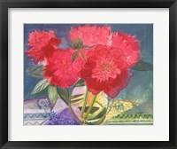 Framed Red Bouquet