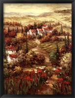 Framed Tuscan Village