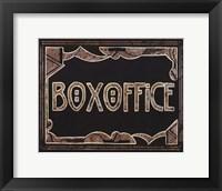 Framed Box Office