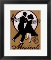 Musicals Framed Print