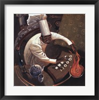 Framed Chefs in Motion I
