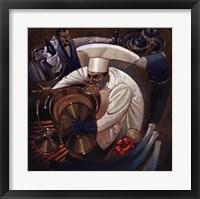 Framed Chefs in Motion II