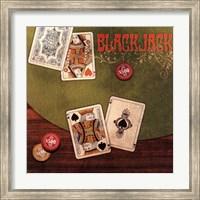 Framed Black Jack