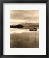 Serenity Lake I Framed Print