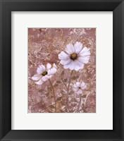 Framed Lace Flowers II