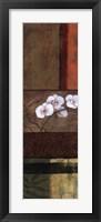 Framed Orchid Tapestry I