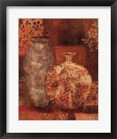 Framed Patterned Urn I