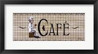 Cafe' Framed Print