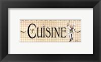 Cuisine Framed Print