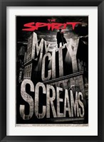 Framed Spirit - My City Screams