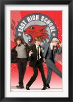 Framed High School Musical3 - The Fellas