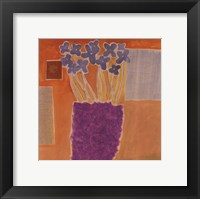 Framed Colors Of Provence I
