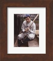 Framed Babe Ruth