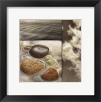 Zen Elements II Framed Print