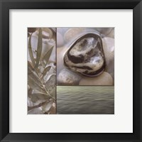 Zen Elements IV Framed Print