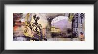 Villa Italia Framed Print