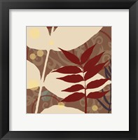 Organic Zen IV Framed Print