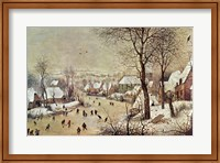 Framed Winter Scene