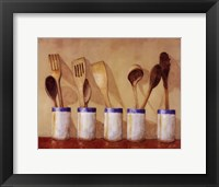 Framed Kitchen Tools