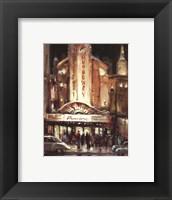 Framed Broadway Premiere