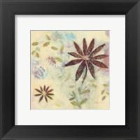 Framed Floral Rhythm 1