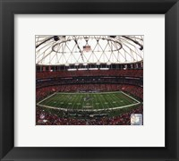 Framed Georgia Dome 2008