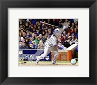 Framed Manny Ramirez 2008 NLDS Game 1 Home Run Swing