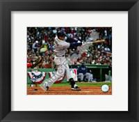 Framed Evan Longoria 2008 ALCS Game 3 Home Run