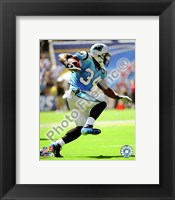 Framed DeAngelo Williams 2008 Action